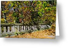 Genesee Valley Park Greeting Card