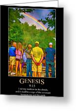 Genesis 9 Greeting Card