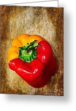 Genetically Modified Capsicum Greeting Card