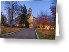 Geneva College Greeting Card