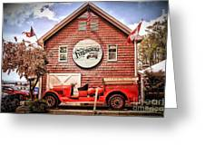 Geneva On The Lake Firehouse Greeting Card