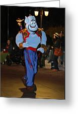 Genie With Moves Greeting Card