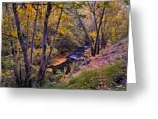 Genil River Greeting Card