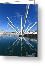 Genova - Porto Antico Greeting Card