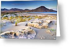 Genoveses Beach At Sunset Greeting Card