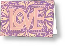 Gentel Love  Greeting Card