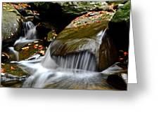 Gentle Falls Greeting Card