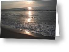 Ocean - Gentle Morning Waves Greeting Card