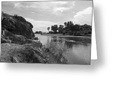 Gentle River Greeting Card