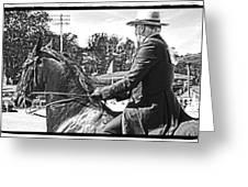 Gentleman Rider Greeting Card
