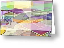 Geo-art Greeting Card