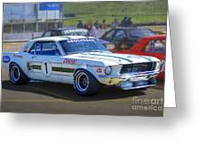 Geoghegan's Mustang Greeting Card