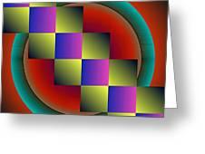 Geometrca 203 Greeting Card