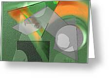 Geometrca 240 Greeting Card