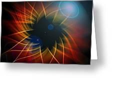Geometric 7  Greeting Card by Mark Ashkenazi