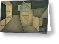 Geometric Abstraction II Greeting Card