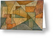 Geometric Abstraction Iv Greeting Card