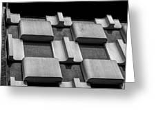 Geometric Building Greeting Card