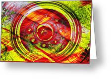 Geometric Colors  Greeting Card