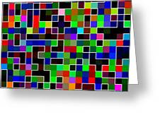 Geometric Pattern 2 Greeting Card