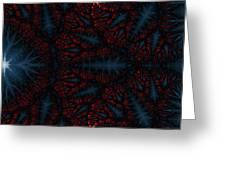 Geometric Patterns No. 19 Greeting Card