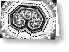 Geometric Tree No. 4 Greeting Card