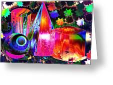 Geometricity Greeting Card