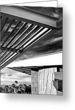 Geometry Lesson Palm Springs Tram Station Greeting Card