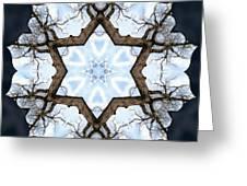 Geometry Tree Greeting Card
