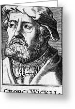 Georg Witzel (1501-1573) Greeting Card