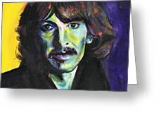 George Harrison Greeting Card