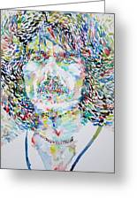 George Harrison Portrait.2 Greeting Card