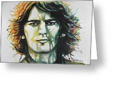 George Harrison 01 Greeting Card