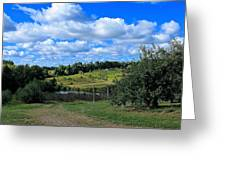 George Hill Orchard Greeting Card