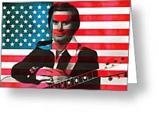 George Jones American Country Greeting Card