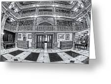 George Peabody Library Vi Greeting Card