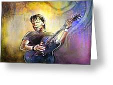 George Thorogood In Cazorla In Spain 02 Greeting Card