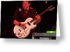 George Thorogood Performing Greeting Card