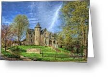 George W. Campbell Home Greeting Card