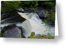 George W Childs Park Waterfall Greeting Card