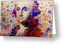 George Washington 3 Greeting Card