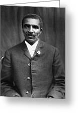 George Washington Carver (c1864-1943) Greeting Card