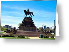 George Washington Monument Greeting Card