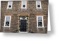 George Wythe House Williamsburg Greeting Card