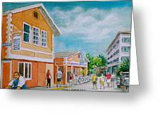 Georgetown Grand Cayman Greeting Card