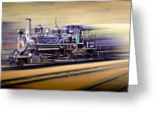 Georgetown Loupe Railroad Greeting Card