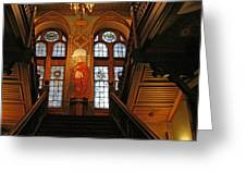 Georgetown's Healy Hall Greeting Card
