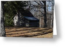 Georgia Barn Greeting Card