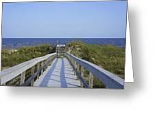 Georgia Boardwalk Greeting Card