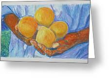Georgia Peach Greeting Card